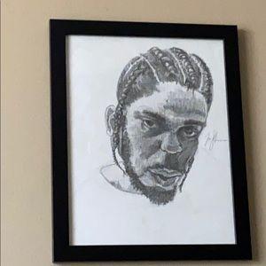 Kendrick Lamar Damn Portrait